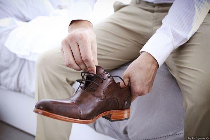 Estos zapatos de novio: ¿cuál aprueba y cuál jala? 3
