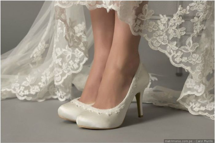 ¿Prohibidos o No los zapatos de novia ____? 1