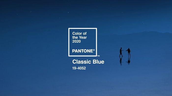 "Nuevo color PANTONE 2020 ""Classic Blue"" 1"