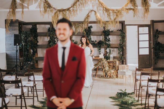 Ver a la novia antes de la ceremonia 1