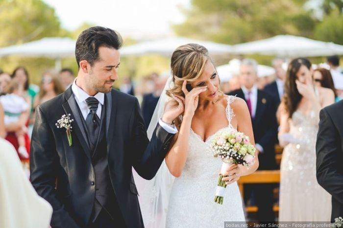 Llorar durante la boda 1