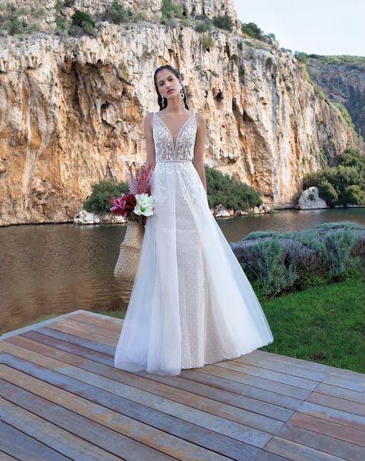 Vestidos de novia con un brillo muy especial  ✨ 2