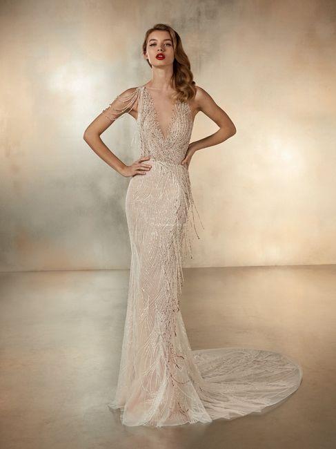 Vestidos de novia con un brillo muy especial  ✨ 4