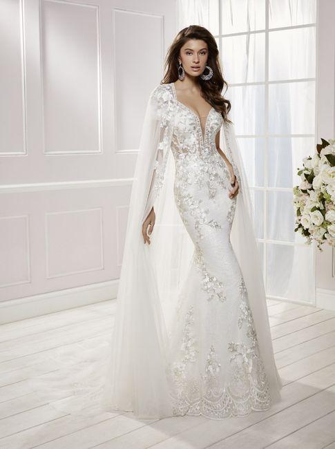 Vestidos de novia con un brillo muy especial  ✨ 5