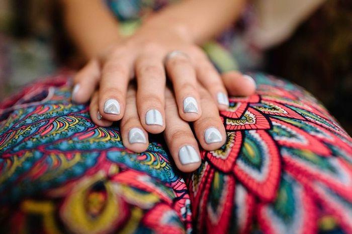Manicure a color ❤️ 💜 2