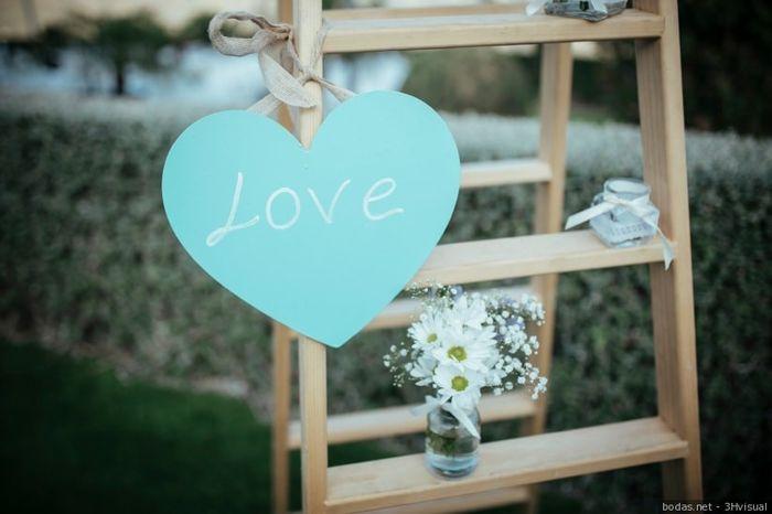 Carteles en tu boda: LOVE  ❤️ 9
