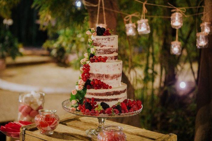Las mejores Naked Cakes ¿tu favorita es...? 😋 1