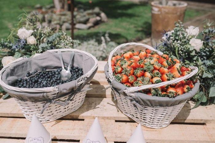Decora tu boda con frutas 🍉 3