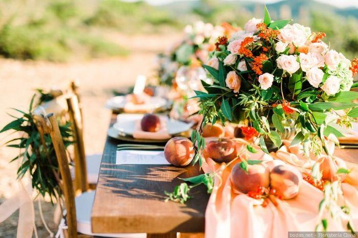 Decora tu boda con frutas 🍉 5