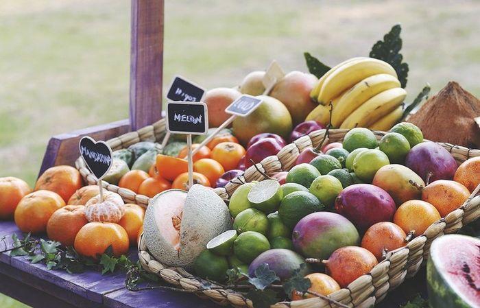 Decora tu boda con frutas 🍉 7