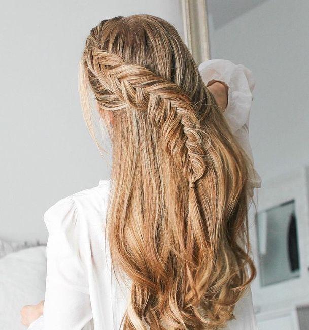 Tu peinado ideal: Semi recogidos 7