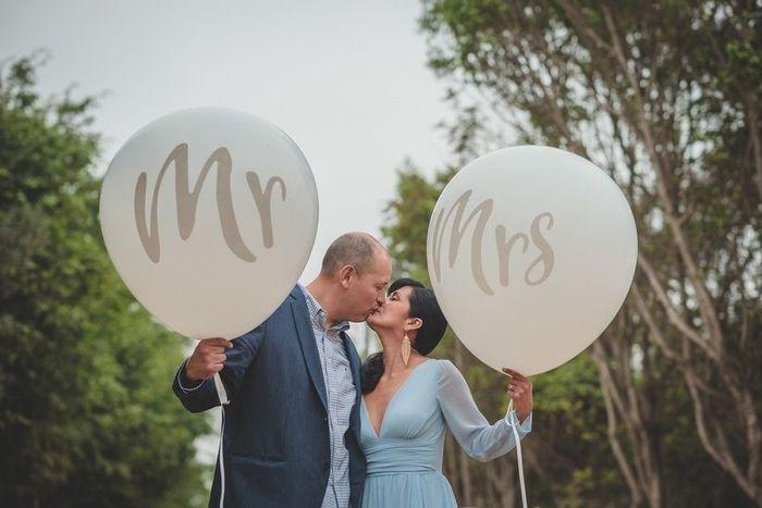 ¿Se cambiarán el apellido de casadas? 1