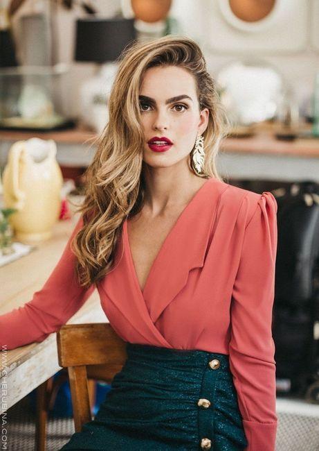 Look de invitada: 2 colores, 1 vestido 😍 1