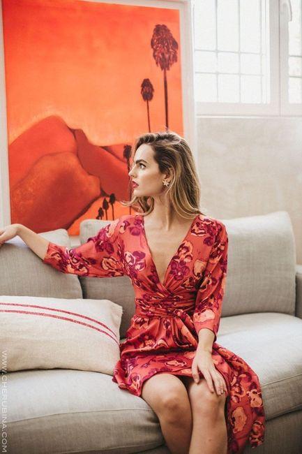 Look de invitada: 2 colores, 1 vestido 😍 3