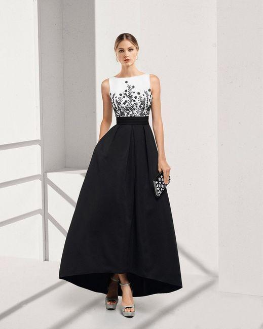 Look de invitada: 2 colores, 1 vestido 😍 4