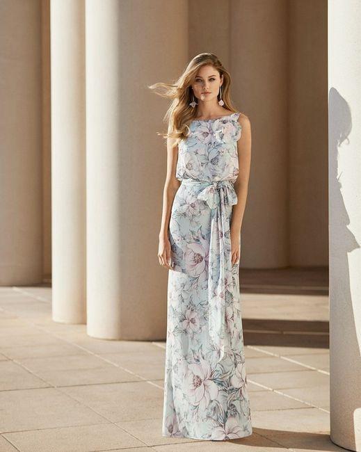 Look de invitada: 2 colores, 1 vestido 😍 5