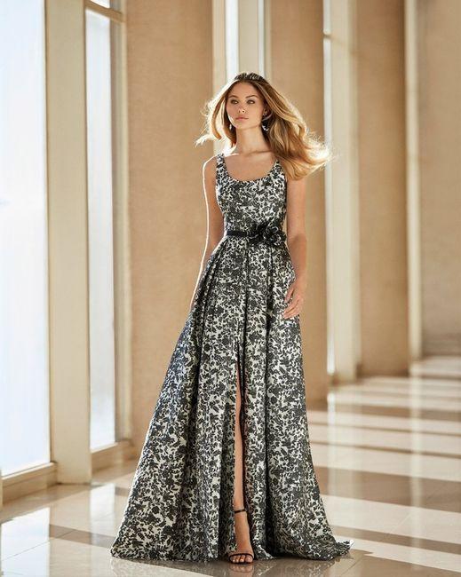 Look de invitada: 2 colores, 1 vestido 😍 6