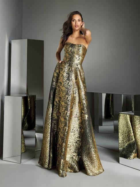 Look de invitada: 2 colores, 1 vestido 😍 7