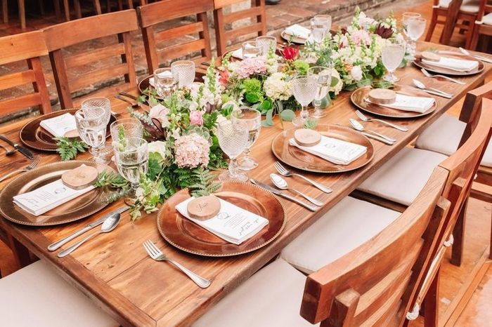 💡 Ideas de decoración para mesas rectangulares 2