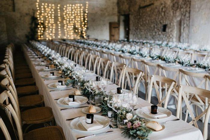 💡 Ideas de decoración para mesas rectangulares 3
