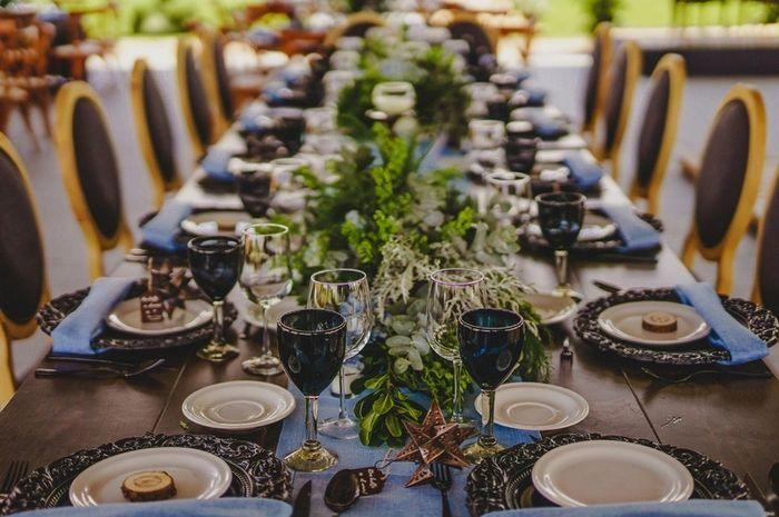 💡 Ideas de decoración para mesas rectangulares 5