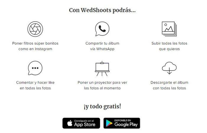 ¿Cómo usar Wedshoots en tu boda? 1