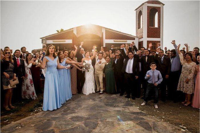 ¿Invitarías a tu boda a los EX's? 🤭 1