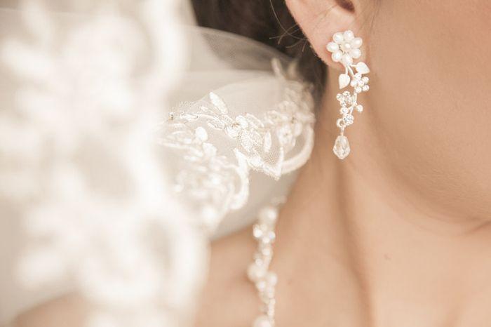 ¿Te gustan estos ARETES para tu boda? 1