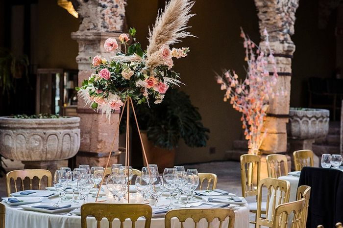 ¿Te gustaría este CENTRO DE MESA para tu boda? 2