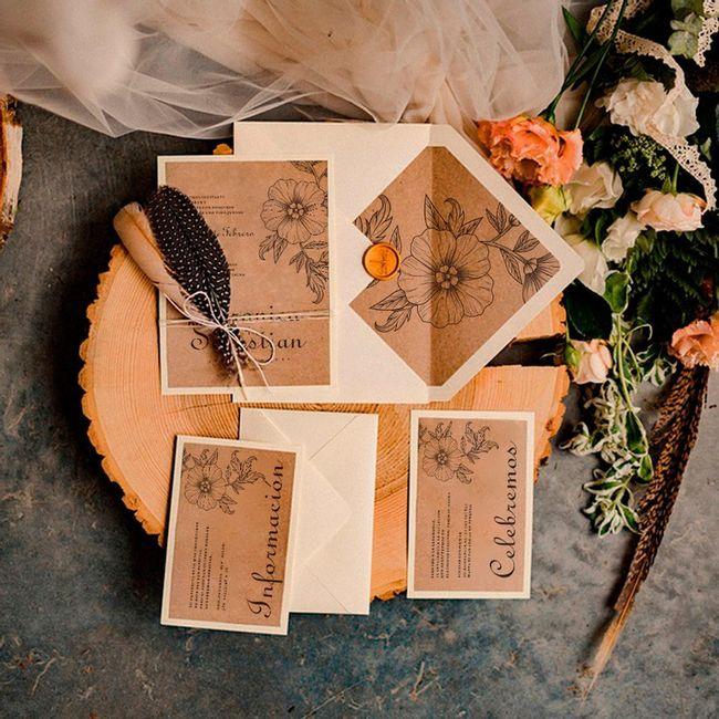 Tendencias 2021: Invitaciones de matrimonio - 7
