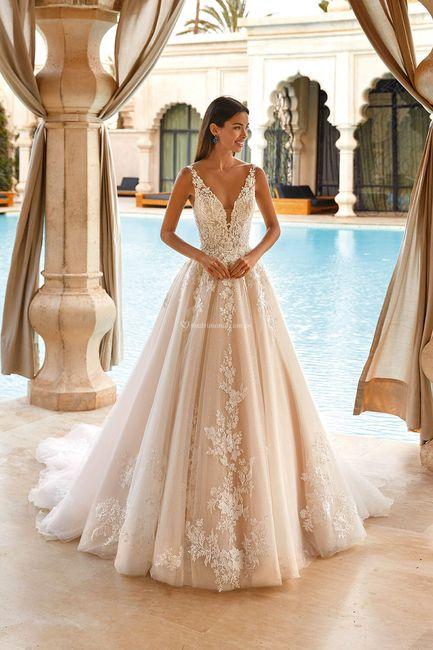 Vestidos de novia corte Princesa 2021 1