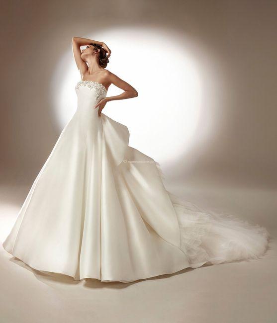 Vestidos de novia corte Princesa 2021 2