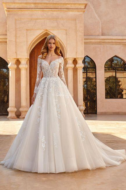 Vestidos de novia corte Princesa 2021 3