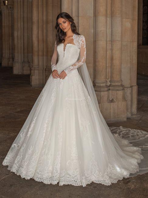 Vestidos de novia corte Princesa 2021 4