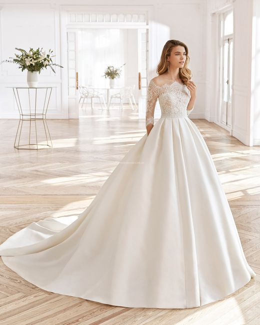 Vestidos de novia corte Princesa 2021 6