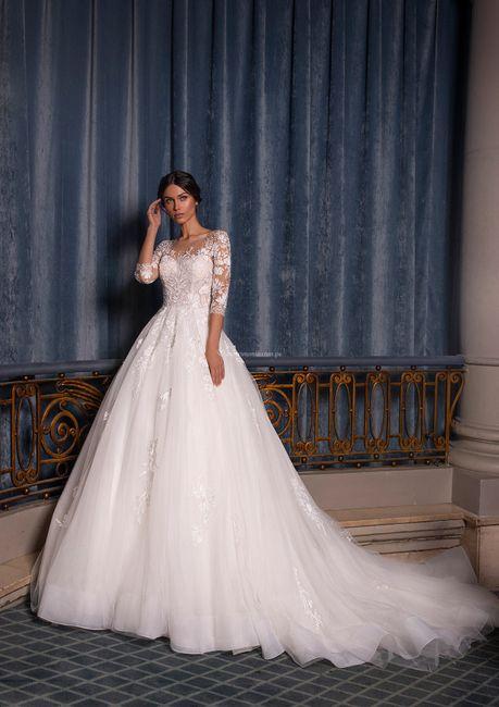 Vestidos de novia corte Princesa 2021 9