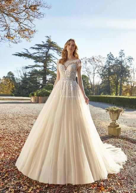 Vestidos de novia corte Princesa 2021 12