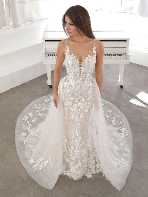 Vestidos corte sirena 2021 - 4