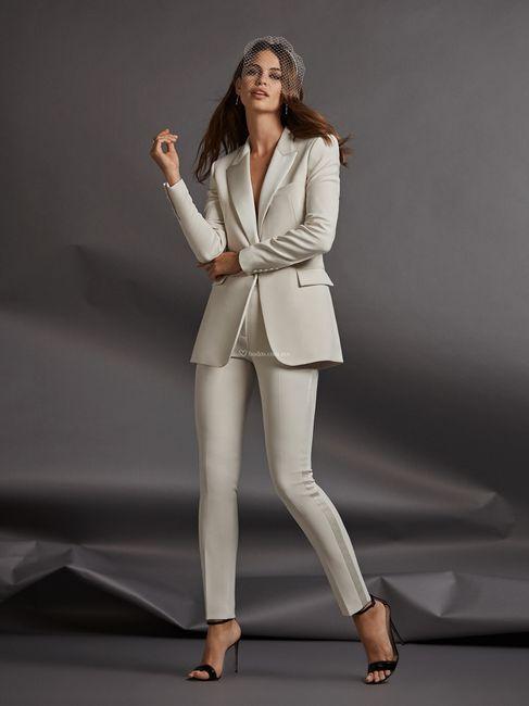 Traje blanco perla: Zapatos blancos o ivony?? 5