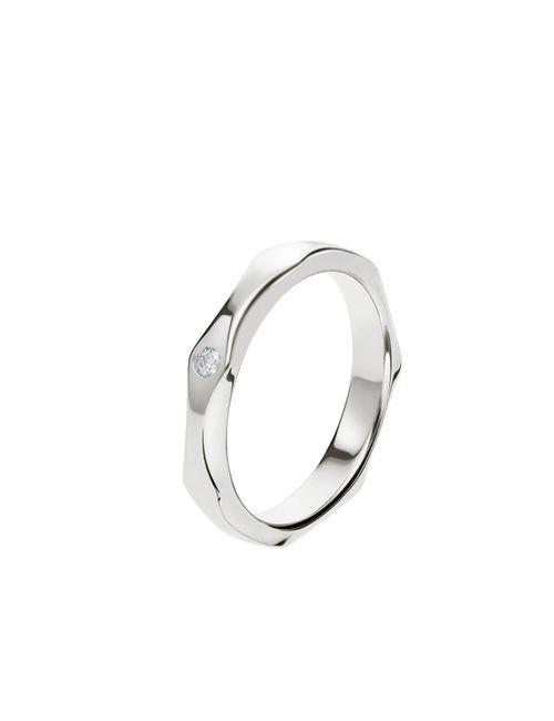 Enamórate de estos anillos de matrimonio en Oro Blanco 😍 1