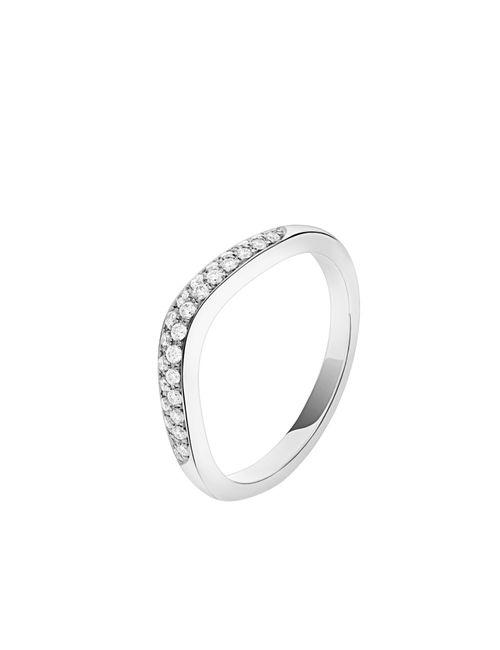 Enamórate de estos anillos de matrimonio en Oro Blanco 😍 3