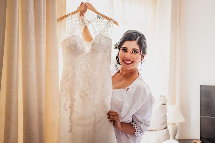 ¿En qué momento harán el cambio de su 2ª vestido de novia? 1