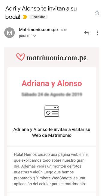 Web de Matrimonio: ¿Tendrás invitaciones virtuales? 1