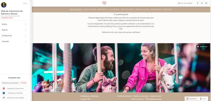 Paso a paso para crear tu Web de Matrimonio 👇📱 4