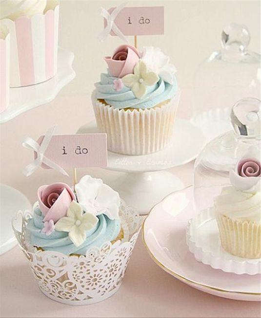¿Reemplazarías la torta de boda por unos cupcakes? 1