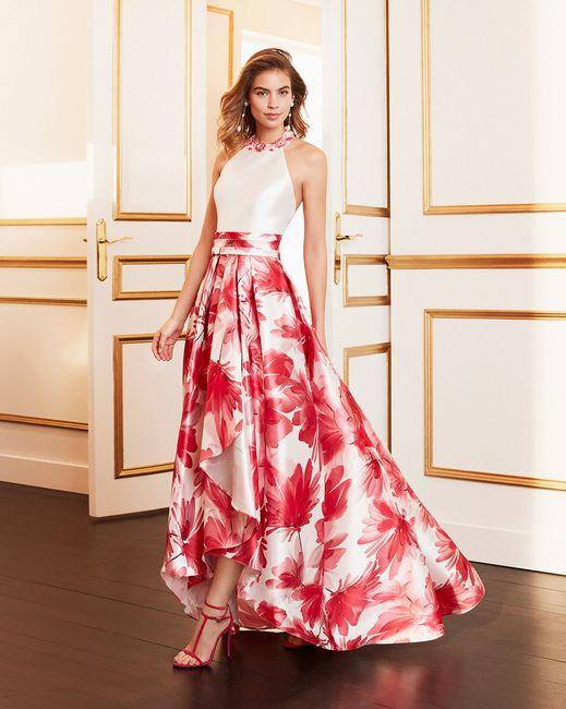 9 Vestidos de fiesta con estampados florales 🌺 1