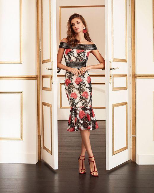 9 Vestidos de fiesta con estampados florales 🌺 2