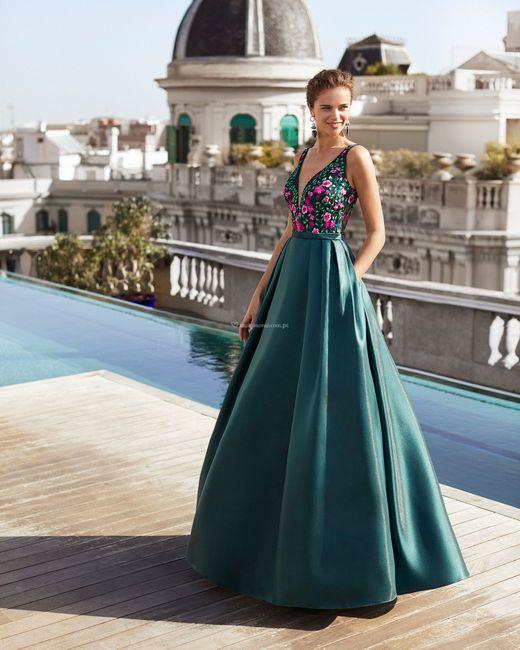 9 Vestidos de fiesta con estampados florales 🌺 4