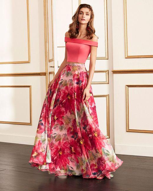 9 Vestidos de fiesta con estampados florales 🌺 5