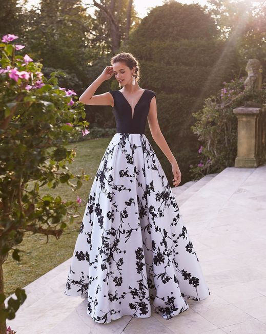 9 Vestidos de fiesta con estampados florales 🌺 7
